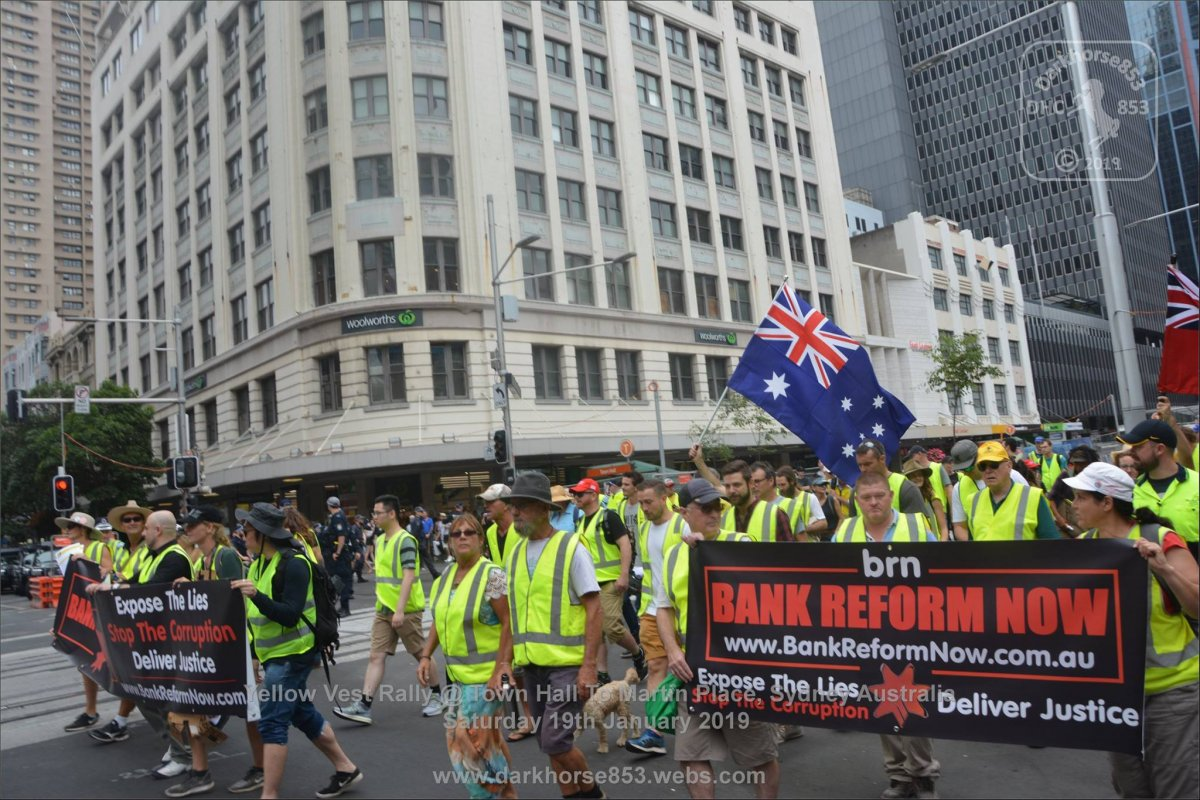 Yellow Vest want bank reform