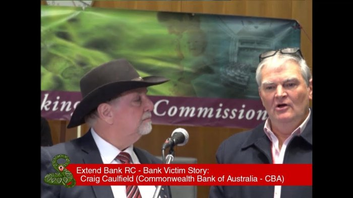Craig Caulfield - CBA Bank Victim