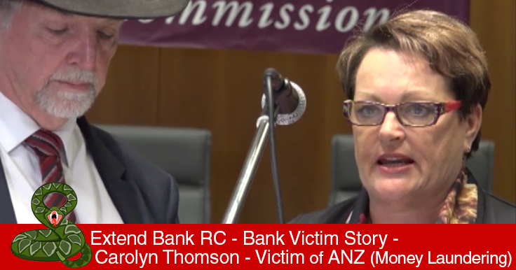 Bank Victims Stories Parliament