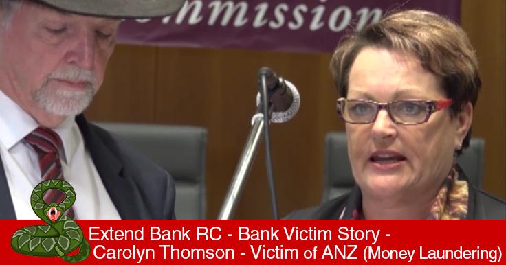 Bank Victims Stories Parliament
