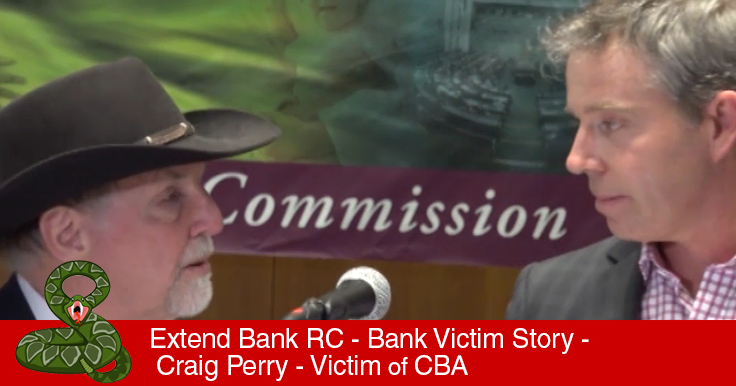 Craig Perry Victorian Farmer Bank Victims CBA