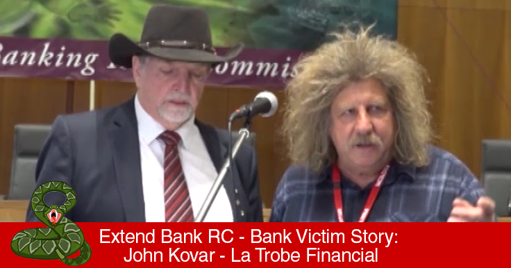 Extend Royal Commission - Bank Victims Compensation