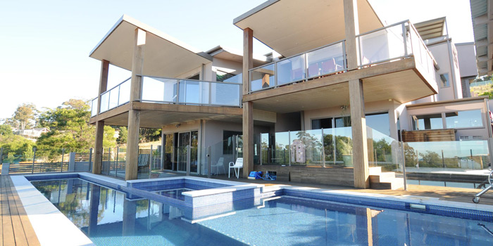 Luxury house giveaway swimming pool
