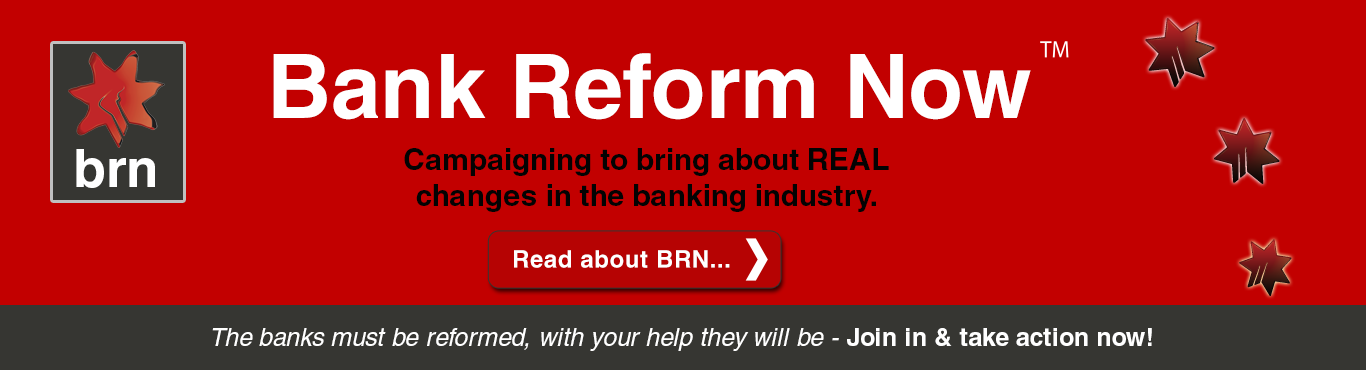 Bank Reform Now Australia
