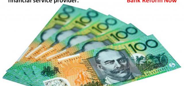 Australian $100 Hundred dollar notes