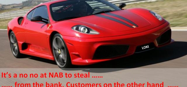 NAB's Ferrari-driving banker guilty