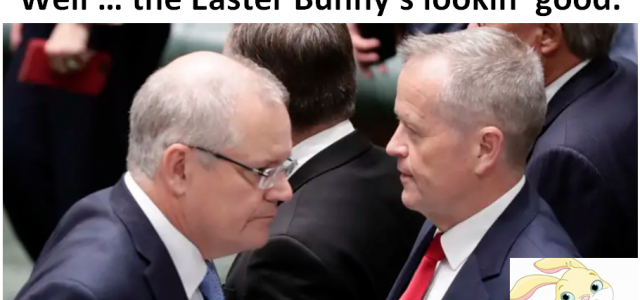 Who do you trust? - the Easter Bunny!