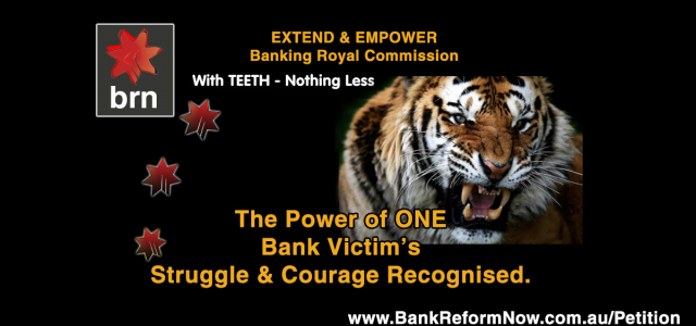 Support Bank Victims Extend Royal Commission