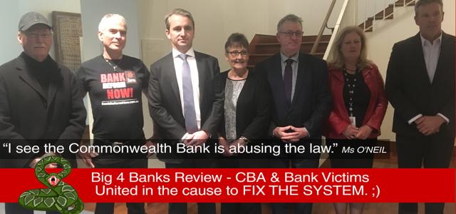 CBA Bank - Meet bank victims