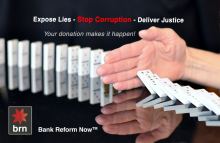 Bank Reform Now Donation
