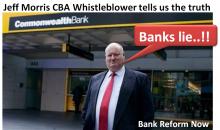 Banks lie