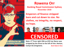 Rowena Orr - Banking Royal Commission