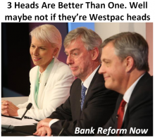 Three Westpac heads - Kelly, Maxsted, Hartzer