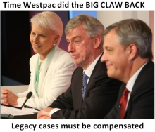 Westpac claw back