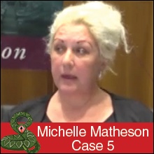Michelle Matheson Bank Victims Horror Storiies
